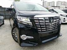2016 TOYOTA ALPHARD 2.5 SC FULL SET ALPINE MONITOR PRE CRASH UNREG