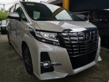 2016 TOYOTA ALPHARD 2.5 SC SUNROOF ALPINE ROOF MONITOR UNREG
