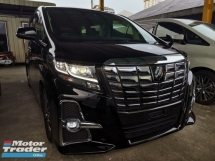 2016 TOYOTA ALPHARD 2.5 SC SUNROOF FULL LEATHER SEATS PRE CRASH UNREG