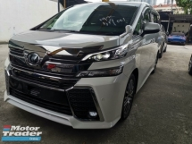 2016 TOYOTA VELLFIRE 2.5 ZG SUNROOF PRE CRASH UNREG
