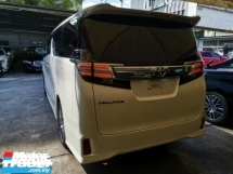 2016 TOYOTA VELLFIRE 2.5 ZG SUNROOF/ALPINE ROOF MONITOR UNREG