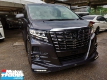 2015 TOYOTA ALPHARD  3.5 SAC FULL SPEC TRD BODYKIT UNREG