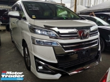 2018 TOYOTA VELLFIRE 3.5 VL NEW FACELIFT FULL SPEC UNREG