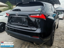2016 LEXUS NX  200T 2.0 F-SPORT SUNROOF POWER BOOT UNREG