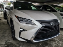 2017 LEXUS RX 200T 2.0 FULL LEATHER SUNROOF POWER BOOT SURROUND CAM UNREG