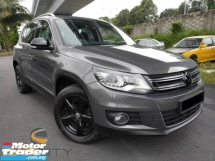 2016 VOLKSWAGEN TIGUAN 1.4 TSI 1 LADY OWNER ORI PAINT TIPTOP CONDITION
