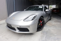 2017 PORSCHE 718 Cayman S 2.5 Unregistered Ready Stock