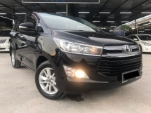 2017 TOYOTA INNOVA 2.0G LIKE NEW, UNDER WARRANTY, FULL SERVICE, NICE NEW INTERIOR, ALL ORIGINAL PARTS, OFFER RAYA, DEAL SAMPAI JADI