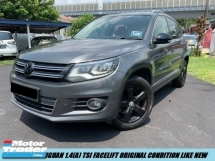 2015 VOLKSWAGEN TIGUAN new engine under warranty one owner super low mileagne tiptop like new car