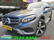 2018 MERCEDES-BENZ GLC 200 2.0 PREMIUM AUTO CKD BRAND NEW C&C -FULL SERVICE RECORD MERZ - 99% NEW CAR CONDITION- UNDER WARRANTY TILL 2022 -FULL LOAN -