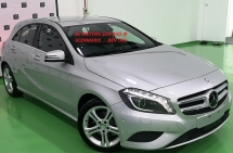 2014 MERCEDES-BENZ A-CLASS 2014 MERCEDES BENZ A180 1.6 SE UNREG JAPAN SPEC  CAR SELLING PRICE ONLY ( RM 109,000.00 NEGO )