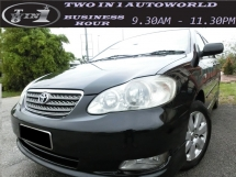 2005 TOYOTA COROLLA ALTIS 1.6 E (A) FACELIFT/WELCOME CASH BUYER/NEGO TIL LET GO/TIPTOP CONDITIONS