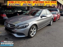 2015 MERCEDES-BENZ C-CLASS C200 CGI BLUE EFFICIENCY AVANTGARDE SPECIAL EDITION