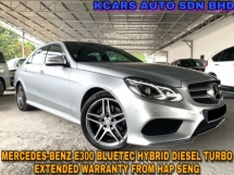 2015 MERCEDES-BENZ E-CLASS E300 BlueTEC DIESEL TURBO EXTENDED WARRANTY BY HAP SENG