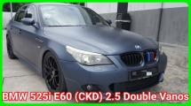 2006 BMW 5 SERIES E60 525i (CKD) 2.5 Facelift Double Vanos Good Condition Nano Matte Blue Body Sticker Full Converted M5 Bodykit Selling Cash Only No Loan