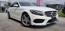 2016 MERCEDES-BENZ C-CLASS C180 AMG SPORTS CLEARANCE STOCK