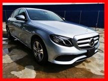 2017 MERCEDES-BENZ E-CLASS E200 AVANTGARDE FULL LEATHER/BURMESTER/4CAMERA/POWER BOOT - UNREG