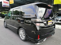 2009 TOYOTA VELLFIRE 3.5V L FACELIFT EDITION- HIGHEST SPEC - 2POWER DOOR - POWER BOOT - DVD PLAYER - 4NEW TYRE - NON SMOKER USER - 1LADY OWNER - ACC FREE - FULL SERVICE RECORD -FULL LOAN - RM0 D.PAYMENT -LIKE NEW -VIEW TO BELIEVE