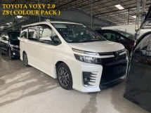 2014 TOYOTA VOXY 2.0 ZS LIMITED EDITION ** COLOR PACK / 7 SEATERS / 2 POWER DOOR ** FREE 4 YEAR WARRANTY ** OFFER OFFER