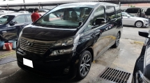 2009 TOYOTA VELLFIRE 2.4 VVTI (A) V SPEC MODEL, REG 2014, ONE CAREFUL OWNER, LOW MILEAGE DONE 80K KM, 2 ELECTRIC SEAT, LEATHER SEAT, 100% ACCIDENT FREE, 18\