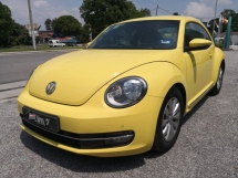 2014 VOLKSWAGEN BEETLE 1.2 TSI TURBO FULL SERVICES LOW MILEAGE