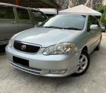 2004 TOYOTA ALTIS 1.8 G SPEC ORIGINAL SPEC 1 OWNER TIPTOP