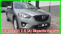2014 MAZDA CX-5 (CKD) 2.0 (A) Skyactiv Facelift Low Mileage 73k Km Push Start GPS Leather Seat Car Keep In Excellent Condition No Repair Need Worth Buy