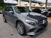 2017 MERCEDES-BENZ GLC 250 4MATIC FULL SPEC 15K KM WARRANTY TILL YEAR 2021
