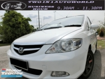 2007 HONDA CITY V-TEC 7 SPEED (A)F-LOAN / WELL MAINTAINED CAR/WEEKEND CAR / 1 OWNER