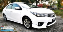 2015 TOYOTA COROLLA ALTIS 1.8 G SPEC / PUSH START BUTTON / LEATHER SEAT / DUAL VVTI ENGINE 7 SPEED /  KEY LESS / TIPTOP CONDITION