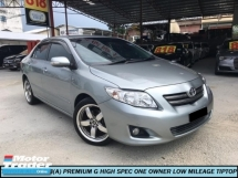 2010 TOYOTA ALTIS 1.8 G PREMIUM VVTi ENGINE HIGH SPEC ONE OWNER LOW MILEAGE GOOD CONDITION LIKE NEW CAR