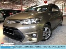 2016 TOYOTA VIOS 1.5 TRD SPORTIVO LEATHER SEAT PUSH START ORIGINAL CONDITION LIKE NEW CAR
