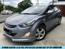 2015 HYUNDAI ELANTRA 1.6 Full Spec Keyless Leather Seat Limited Color One Owner