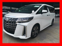 2018 TOYOTA ALPHARD 2.5SC WITH SUNROOF/LEATHER SEAT - UNREG - VIEW NOW.. READY STOCK