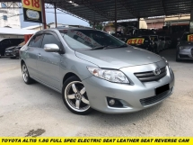 2010 TOYOTA ALTIS 1.8 G FULL SPEC ELETCRIC SEAT LEATHER SEAT DOUBLE DIN PLAYER