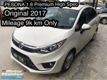 2017 PROTON PERSONA 1.6 full premium spec , leather seats , super low mileage , proton showroom unit, under warranty .