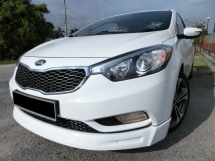 2015 KIA CERATO 2.0 YD (A) F-LOAN / FULL SPEC / SUN ROOF / PADDLE SHIFT / LOW MILEAGE / LADY OWNER / LOW INTEREST RATE