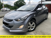 2015 HYUNDAI ELANTRA PREMIUM GLS PUSH START LEATHER SEAT LIMITED CONDITION DEMO CAR UNIT
