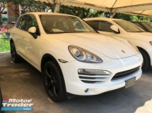 2012 PORSCHE CAYENNE 3.6 V6 PDK Double Clutch Direct Injection 8-Speed Sport Mode Selection Paddle Shift Steering Dual Zone Climate Auto Cruise Control Xenon Light Unreg