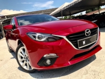 2015 MAZDA 3 2.0 SKY-ACTIV SEDAN (A) LUXURY SEDAN CBU IMPORT NEW