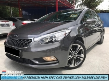2016 KIA CERATO 1.6 K3 AUTO PREMIUM HIGH SPEC NAVIGATION SHOWROOM CONDITION LIKE NEW CAR ONE OWNER
