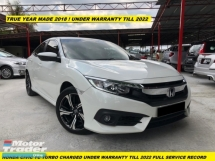 2018 HONDA CIVIC VTEC TURBO CHARGE UNDER WARRANTY TILL 2022 FULL SERVICE RECORD