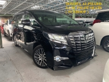2016 TOYOTA ALPHARD 2.5 SC PILOT SEATS ** POWER SUNROOF / MOONROOF ** FREE 4 YEAR WARRANTY ** OFFER OFFER