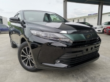 2018 TOYOTA HARRIER ELEGANCE 2.0 BLACK FACELIFT SUNROOF UNREG