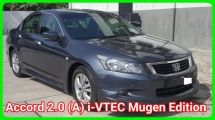 2009 HONDA ACCORD 2.0 VTI Come With Original Mugen Bodykit Confirm Accident No Repair Need Worth Buy