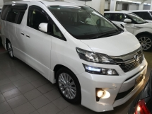2013 TOYOTA VELLFIRE 2.4 ZG Pilot Seat New Facelift Sunroof TRUE YER MADE 2013 Reg 2015