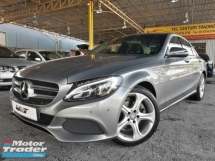 2016 MERCEDES-BENZ C-CLASS 2.0 (A) TURBO AVANTGRADE GOOD CONDITION RAYA PROMOTION PRICE.