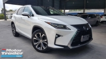 2016 LEXUS RX 2016 Lexus RX200 Version L Panaromic Roof BSM Pre Crash LTA Head Up Display Power Boot Electric Seat Full Leather Unregister for sale