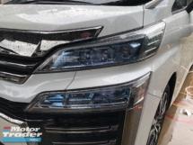 2018 TOYOTA VELLFIRE Unreg Toyota Vellfire 2.5 ZG 7seats 360view PowerBoot Keyless Push Start 7G 3Led Light Leather Seats