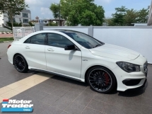 2015 MERCEDES-BENZ CLA 45 AMG 2015 REG 2016 PANAROMIC NEW CBU FROM HAP SENG STAR 4 YEARS WARRANTY TILL AUG 2020